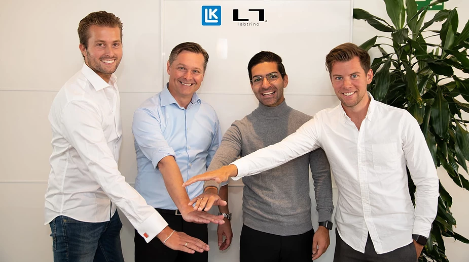 LK Systems investerar i Labtrino team